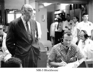 Dr Von Braun & Gordon Cooper during MR3 recovery copy