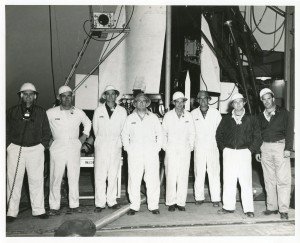 Explorer 1 Pad Crew, Jan 31, 1958