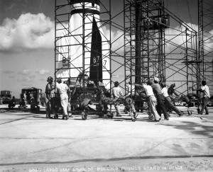 8 Missile Stand Move July 27, 1950 G-0608