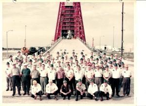 MA-9 Mercury Capsule Launch Team