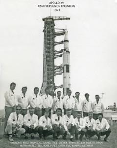 Apollo XV  CSM Propulsion Engineers, 1971