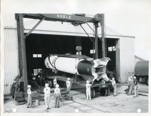 Redstone 3 numbered, Feb or March, 1954