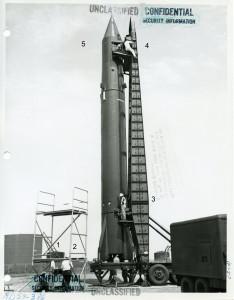 Tactical Redstone, April, 1956